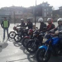 Motorsiklet Ehliyet Eğitim Araçlarımız